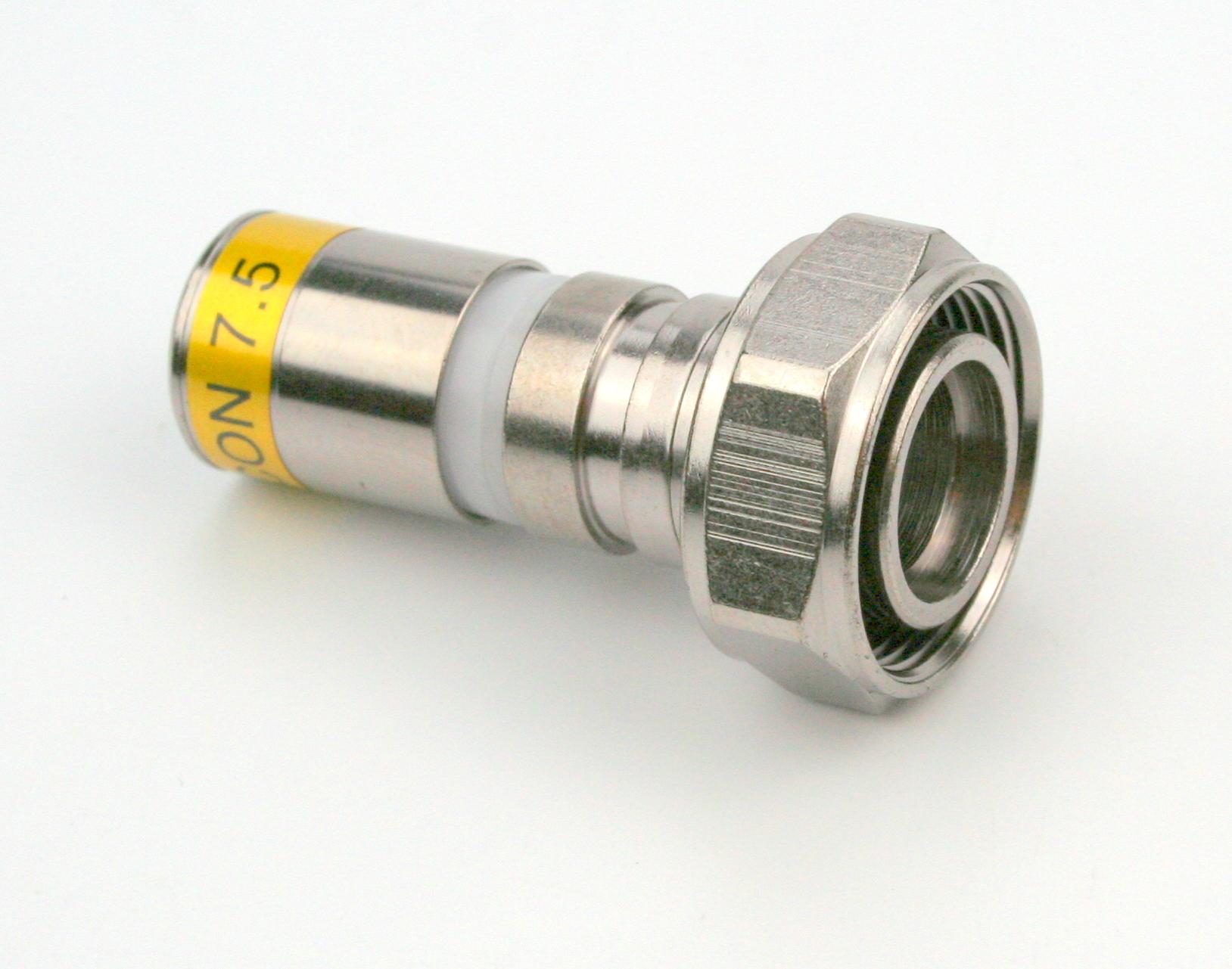 3,5/12M-RG11-CX3 QM 10,5 Kompressions F-Stecker wasserfest