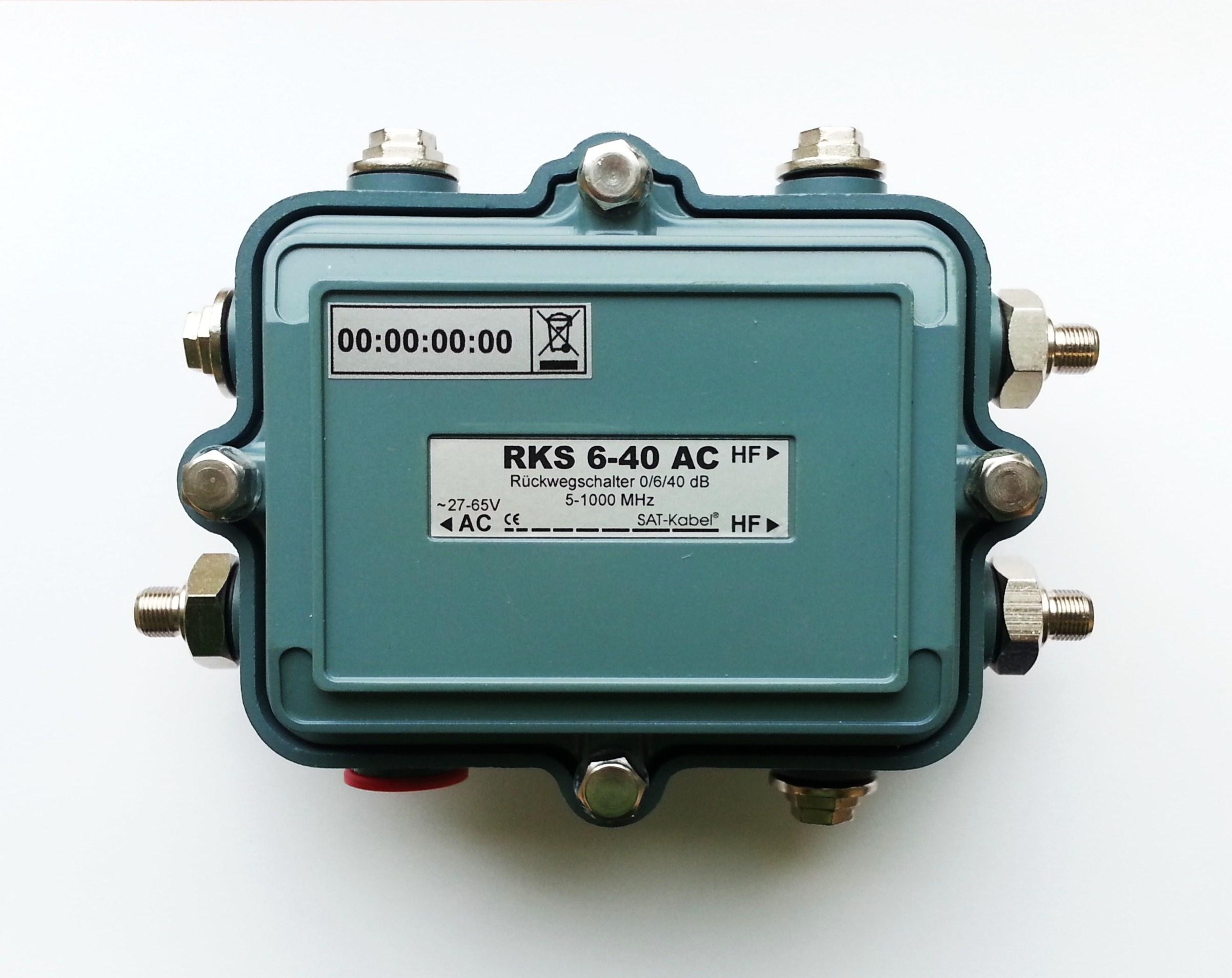 Rückkanalschalter 6-40 AC