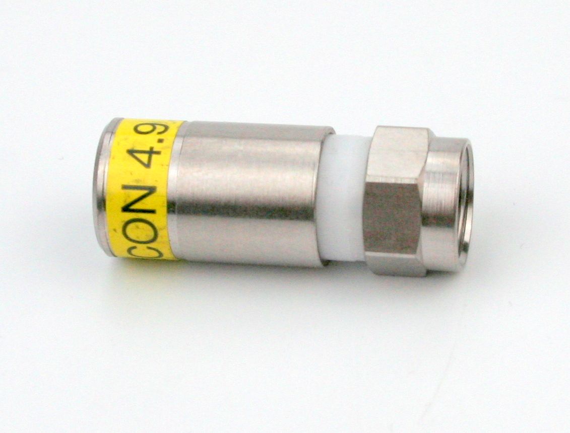F-56-CX3 4,9 Kompressions F-Stecker