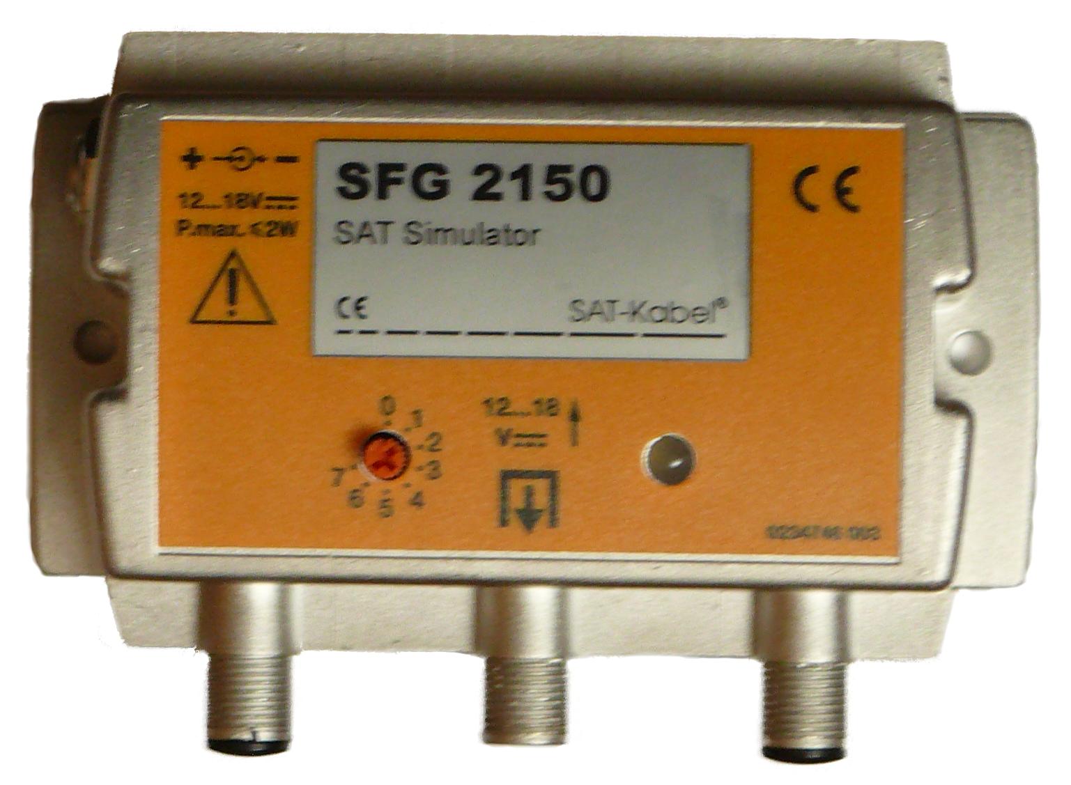 SAT-Simulator - SFG 2150