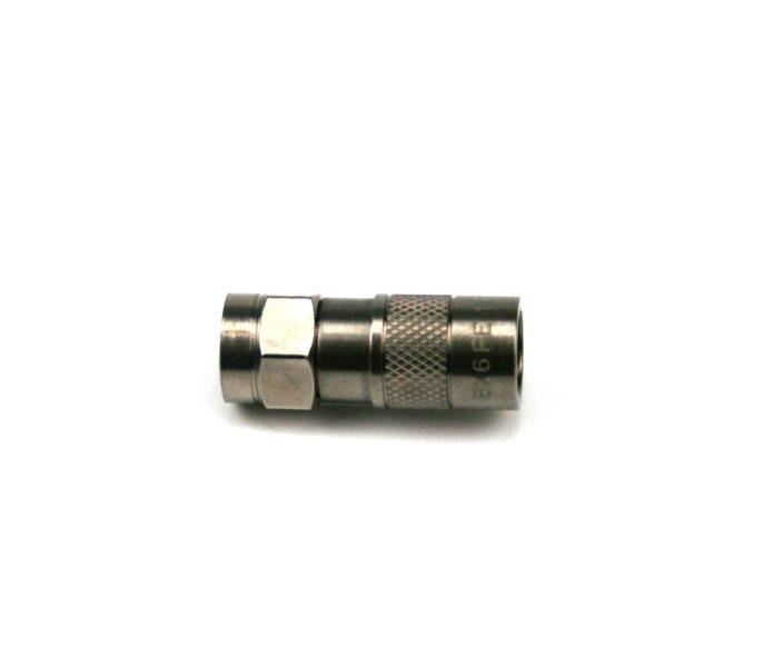 EX 6 PE Kompressions F-Stecker für Koax