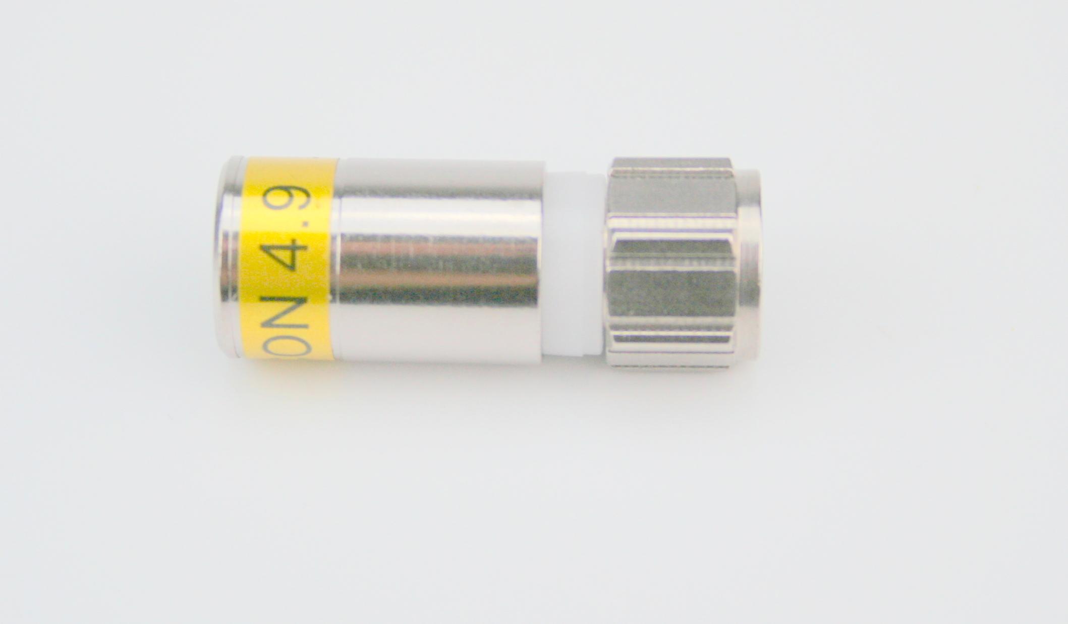 F-6-TD 4,9 Kompressions F-Stecker Tue Drop 1,0/4,6