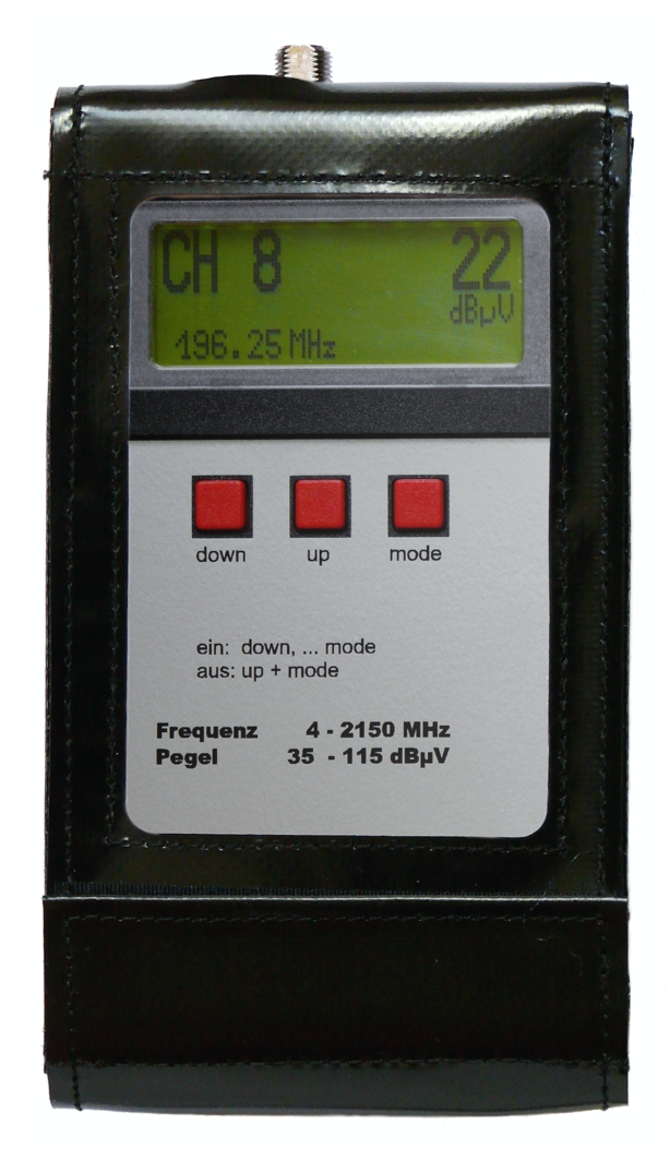 SPM 22 Set-T - Signal-Pegelmessgerät