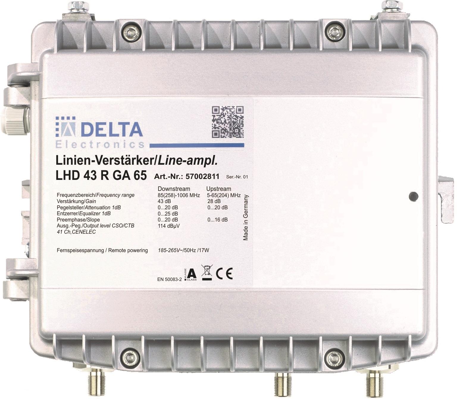 LHD 43 GA Linienverstärker 1,2 GHz modular