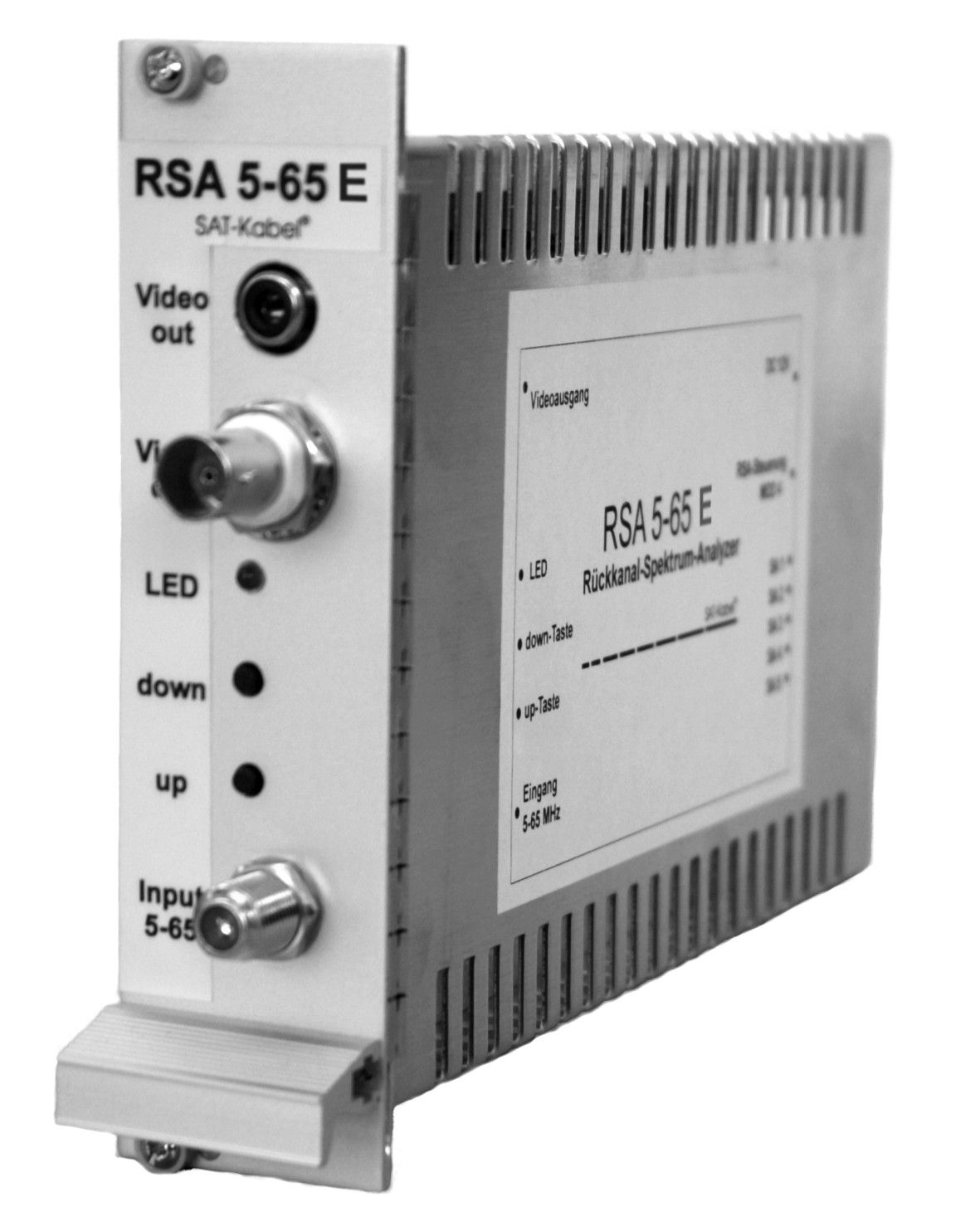 RSA 5-65 E - Rückkanal-Spektrum-Analyzer