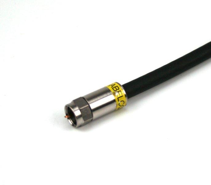 Mini-Jumper F-Stecker FM-RG6-FM/CX3/B/0,6