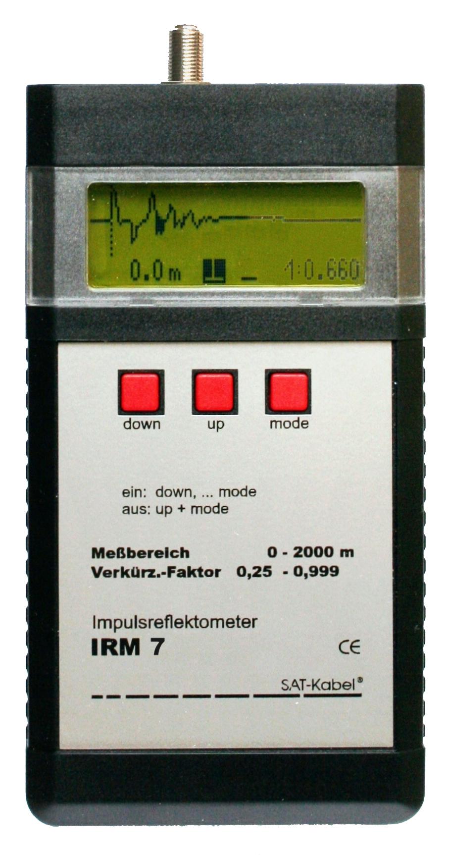 IRM 7 - Impulsreflektometer