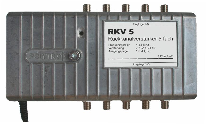 Rückwegverstärker - RKV 5
