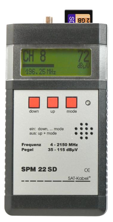 SPM 22 SD - Signal-Pegelmessgerät