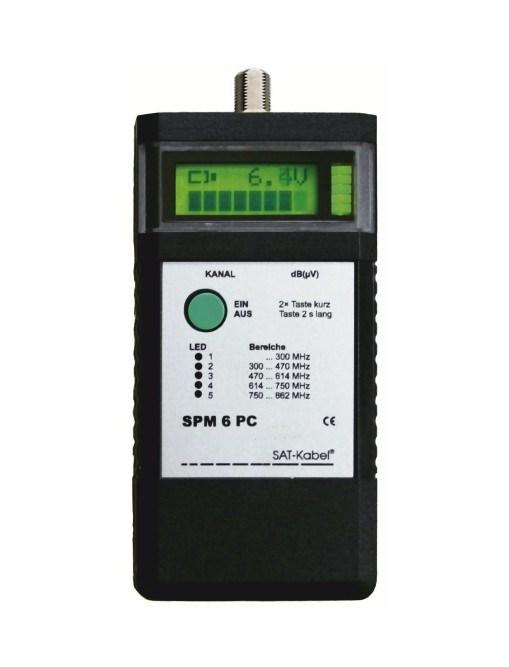 SPM 6 PC Set-K - Signal-Pegelmessgerät