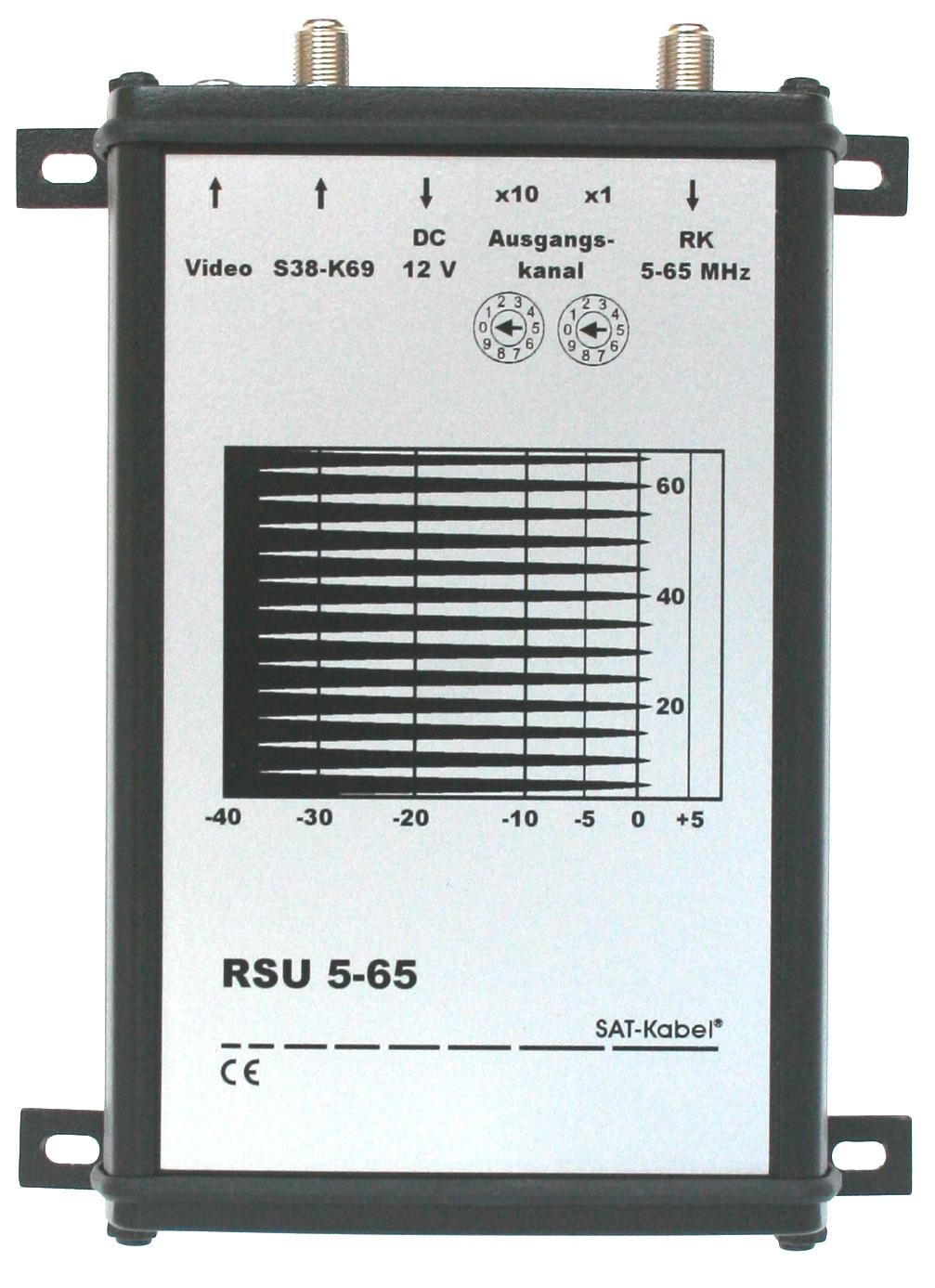 RSU 5-65 - Rückkanal-Spektrumanalyser-Umsetzer