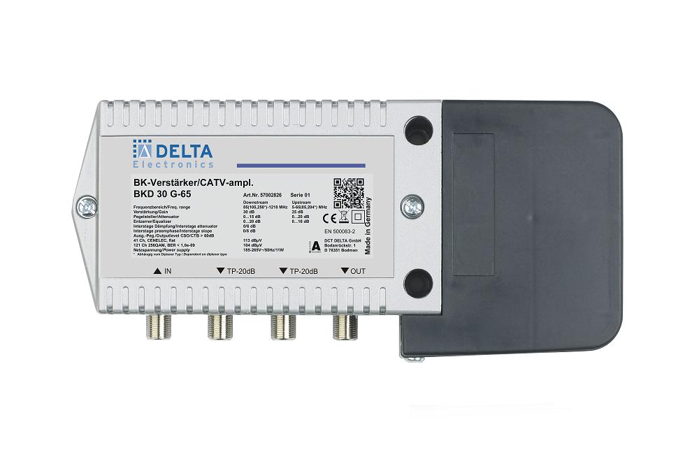 BKD 22 G‐65 Hausanschlussverstärker 1,2 GHz  modular