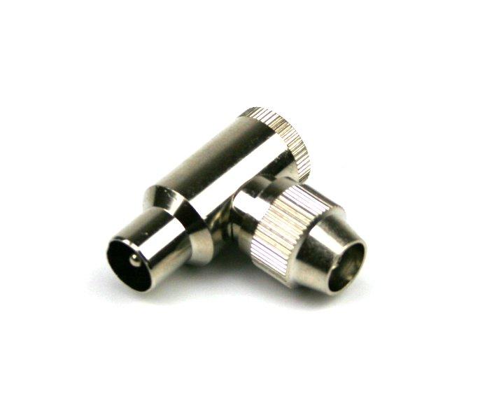 Winkelstecker IEC-WS aus Metall