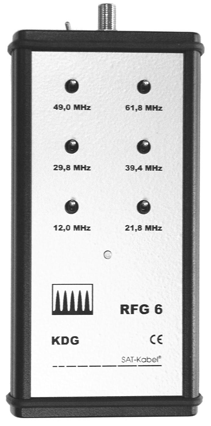 RFG 6 KDG - für Kabel Deutschland