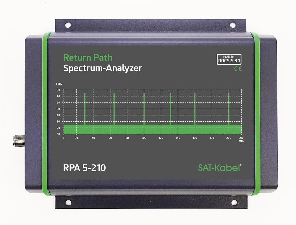 RPA 5-210 Rückweg Spektrum Analysator