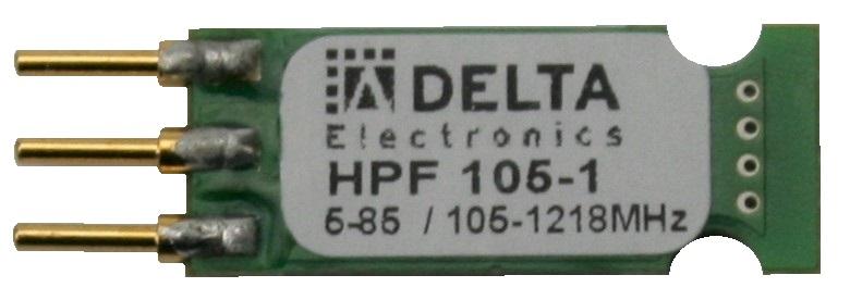 """HPF 258-1 Highpass‐Filter JXP 1"""""""