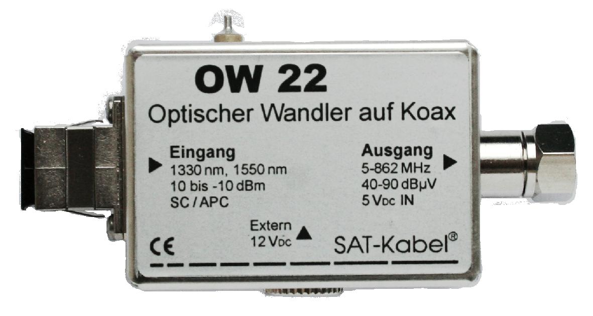 Optischer Wandler - OW 22